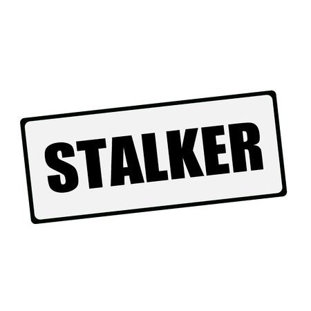 stalker: STALKER wording on rectangular signs