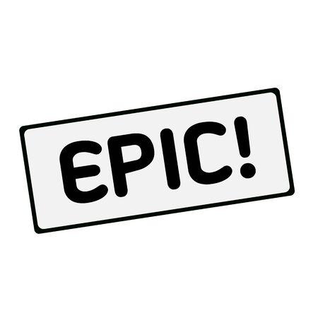 EPIC wording on rectangular signs