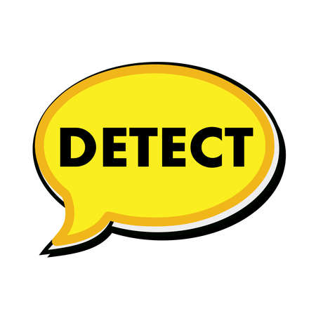 wording: Detect wording on yellow Speech bubbles