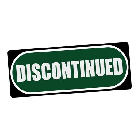 緑の背景の黒いフレームに白い文言を中止 写真素材 - 54957618