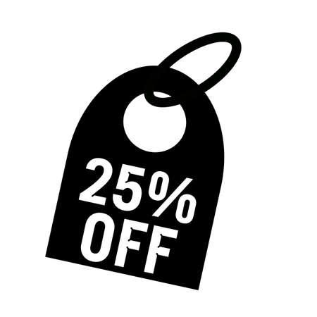 25: 25% OFF white wording on background black key chain
