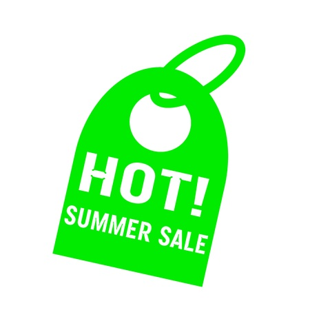 key chain: hot summer sale white wording on background green key chain