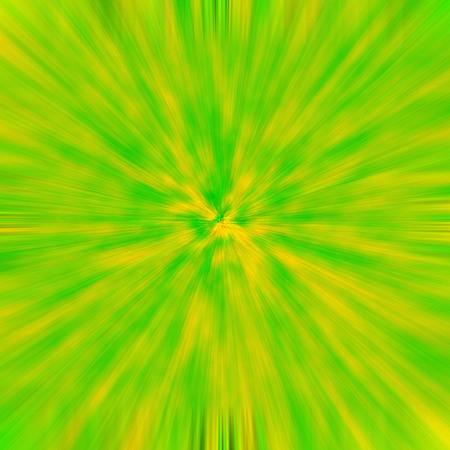 effect: Green-Orange background light effect