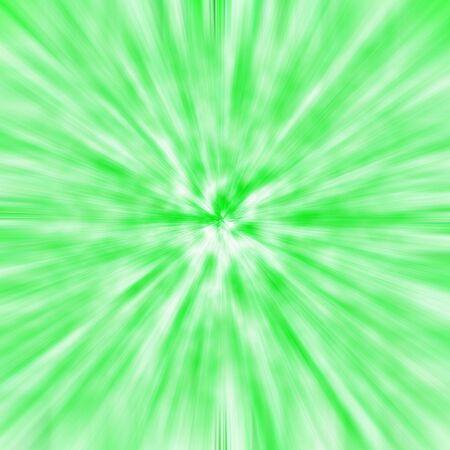 effect: Green-white background light effect