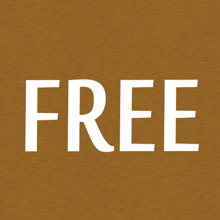 brown wood: Free white wording on Background  Brown wood Stock Photo