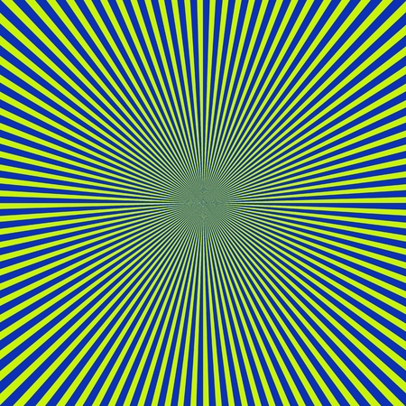 blue-green Striped sun background