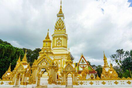 08102019 : Nakhon Phanom, thailand:phra-tha-tum-rukkha-nakhon (Pagoda) Located at wat phra-tha-tum-rukkha-nakhon (Temple) landmark of nakhon phanom province in thailand.
