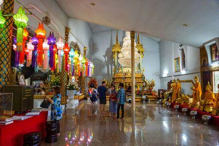 25122019: wat tum ku ha sawan(Temple) landmark of Ubon Ratchathani province in thailand. Redakční