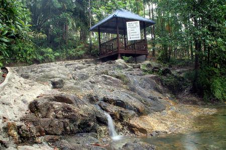 Hot spring in Malaysia