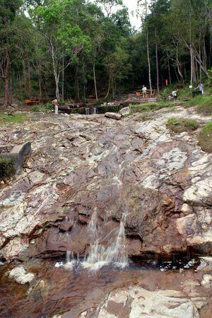 Waterfall in Malaysia Stock Photo