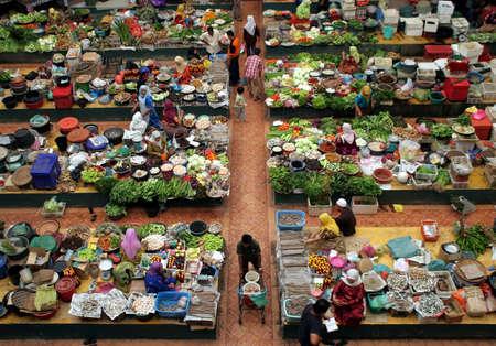 Market Stock Photo