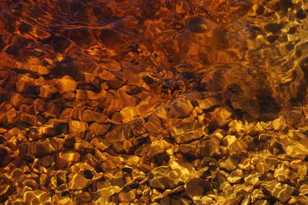 liquid background with stones underwater