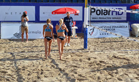 Beach Volleyball Championship in Jurmala