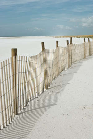 Deserted beach, sand and sky, abstract natural travel background Stock Photo - 2269721
