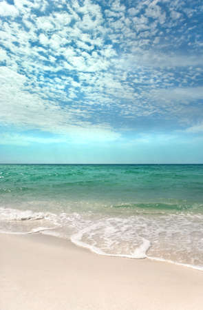 Beautiful day on a pristine beach on the Emerald Coast of Florida Stock Photo - 3050006