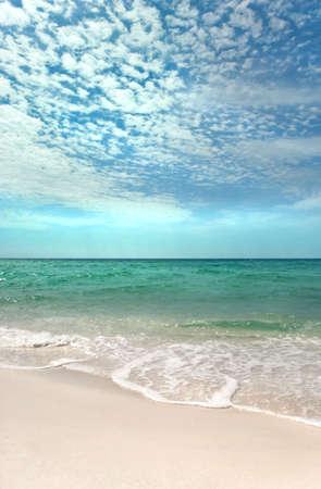Beautiful day on a pristine beach on the Emerald Coast of Florida Stock Photo - 3050006