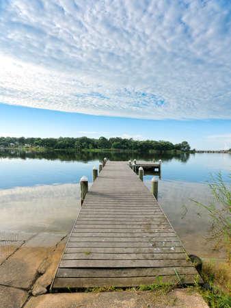 Peaceful Morning Rustic Florida Fishing Pier
