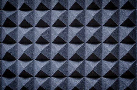 acoustic panels in the studio