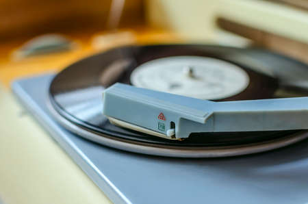 turntable: retro turntable