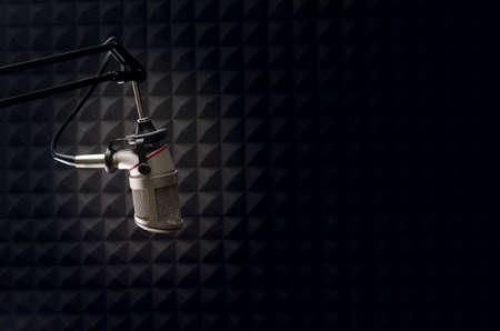 studio microphone Archivio Fotografico