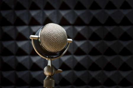 professional microphone Archivio Fotografico