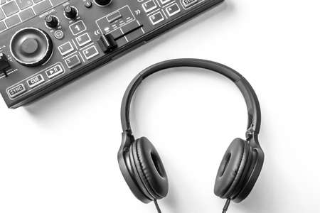 Headphones and home DJ equipment