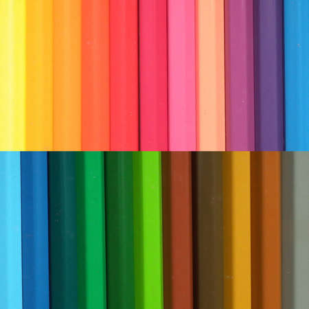 co lour: wax crayon background