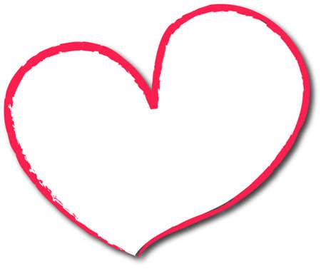 el coraz�n de san valent�n: Valentine heart Vectores