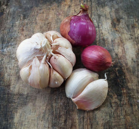 onion, garlic