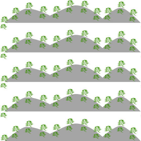 moutain: Green leaves nature pattern background