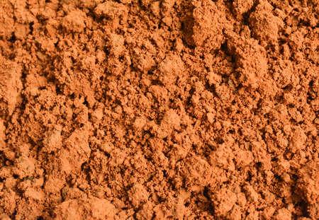 soil texture: brown soil texture