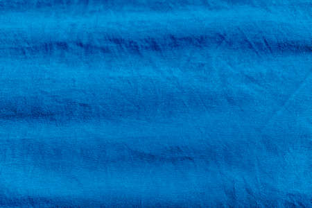 Blue fabric texture smooth soft focus background
