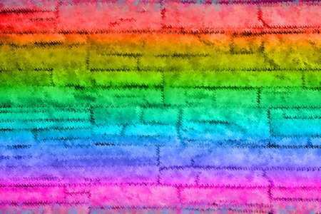 Colorful green,pink,orange ,red and blue abstract background
