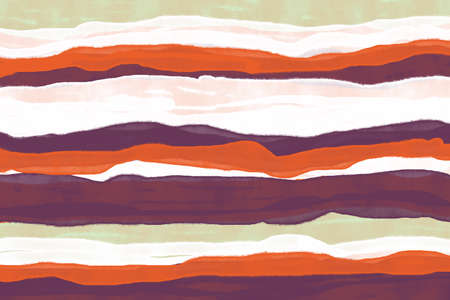 Colorful grren,white,purple and orange stripe pattern wallpaper background