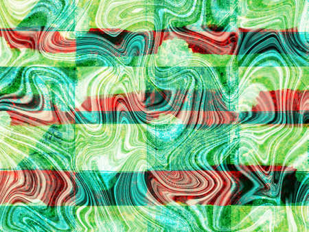 green ,white  and orange retro color  abstract wallpaper  background