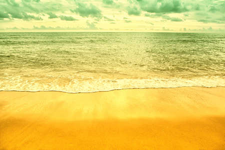 colorful  sea,sky  at the  beach   spring,summer nature wallpaper  background