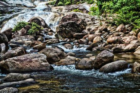 small waterfall   fesh nature wallpaper background
