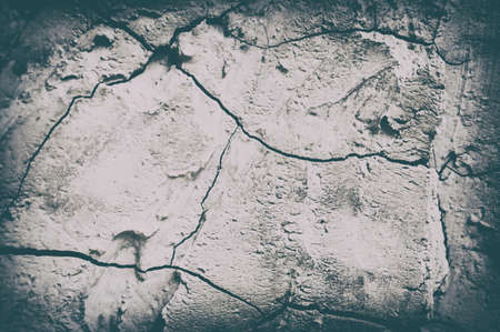 vignette  grunge gray and cracked wall  rustic  texture frame and border background