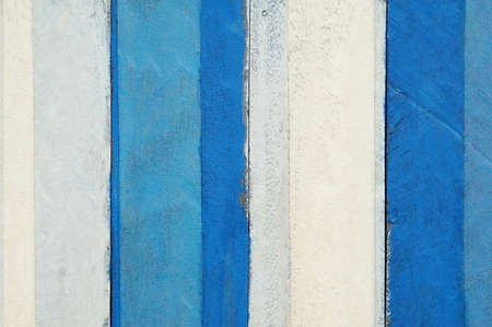 blue and white wooden paint  table plank  texture  background Banco de Imagens