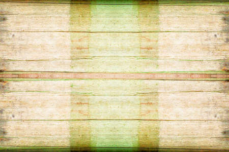 old brown and green wood  plank empty space texture background