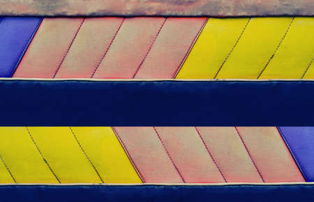 colorful  blue,pink  and yellow  leather abstract template ,banner design background