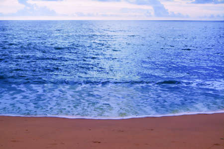Abstract blue sea summer paradise  fresh nature outdoor relax wallpaper background