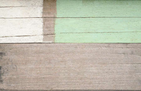 white ,green and brown  abstract wood   paint texture background