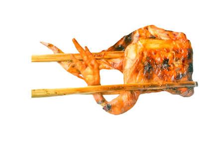 Roast Chicken on dish Reklamní fotografie