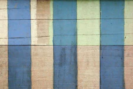 grunge blue, brown, green and white  wooden texture  background Archivio Fotografico - 129273187