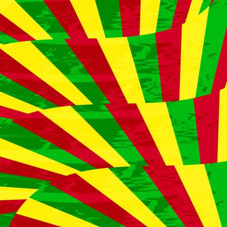 colorful reggae background vector eps.10