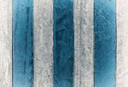 vintage  blue and white wooden  panel texture background                 Stock Photo