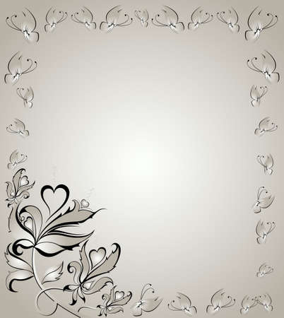 Abstract floral background Stock Photo - 5040933