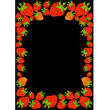 delightful: Beautiful bright background from tropical berries
