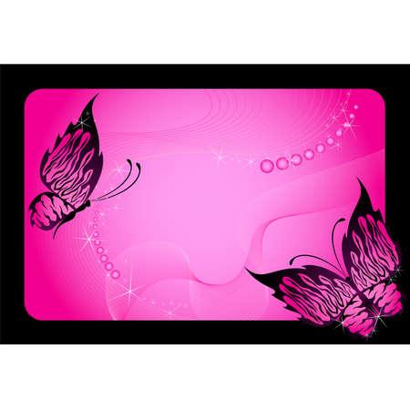 purple butterfly: beautiful tropical butterfly Illustration